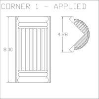Corner 1 Applied