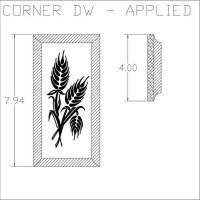Corner DW Applied