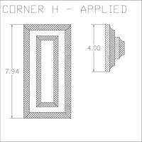 Corner H Applied