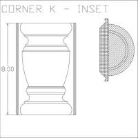 Corner K Inset