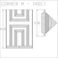 Corner M Inset