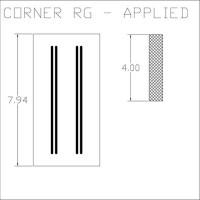 Corner RG Applied