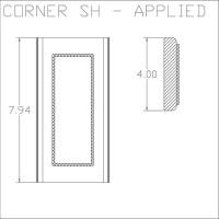 Corner SH Applied
