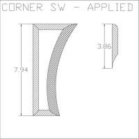 Corner SW Applied