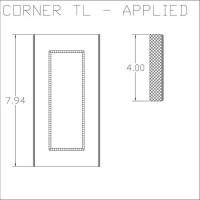 Corner TL Applied