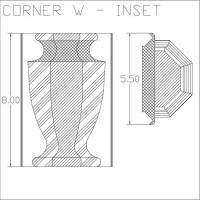 Corner W Inset