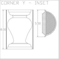 Corner Y Inset